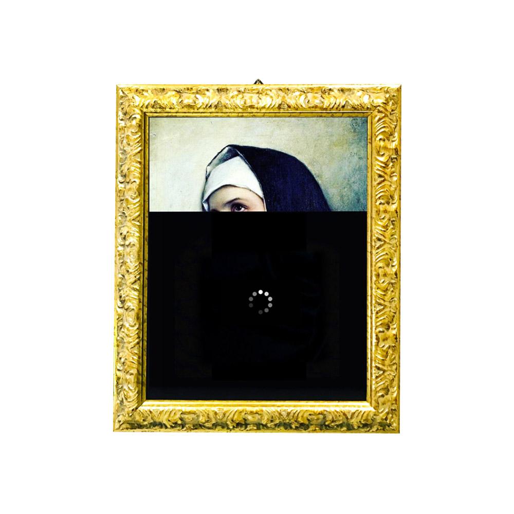 Nicolò Tomaini - Head of a Nun